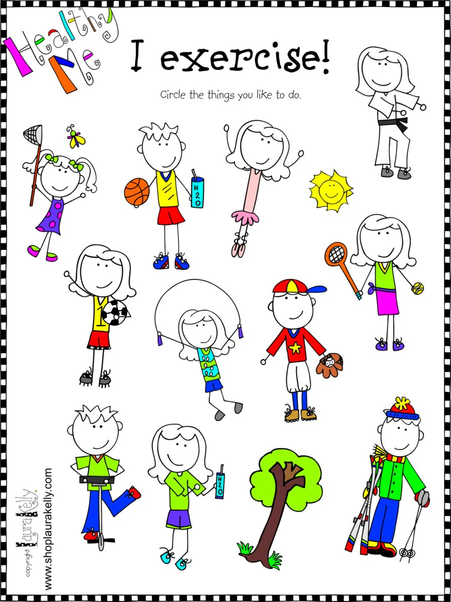 Healthy Me...Fun Ways for Kids to Express Their ...
