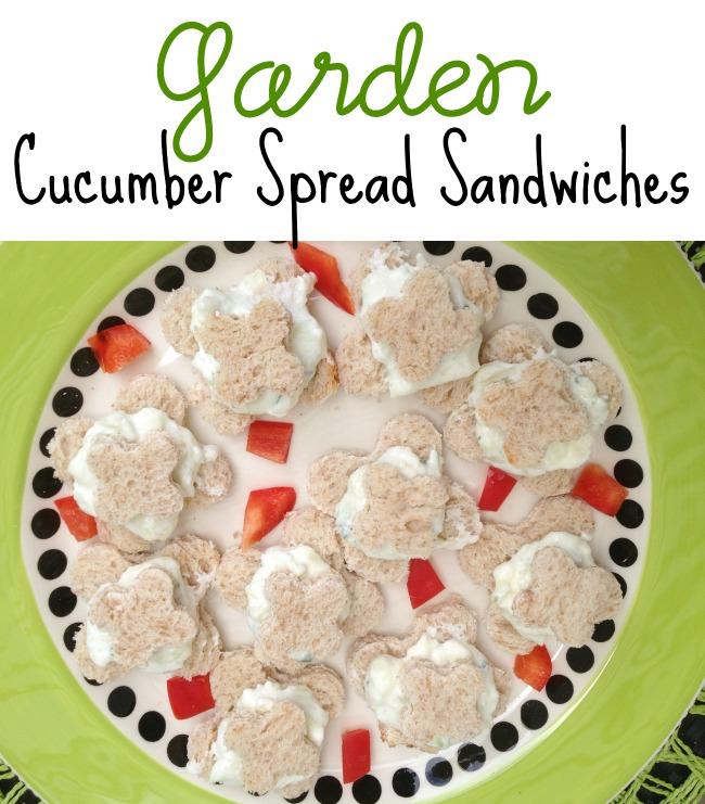 Garden Cucumber Sandwiches