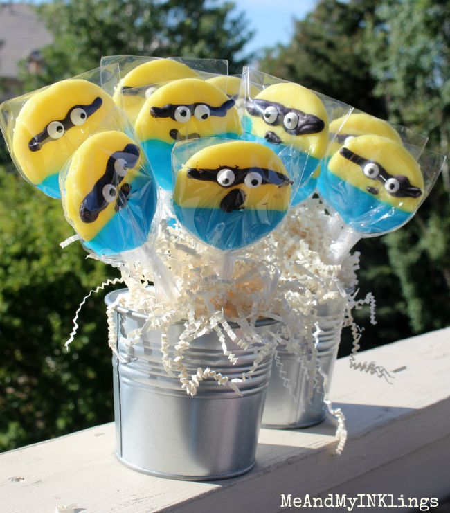 Diy_Minion_Lollipops