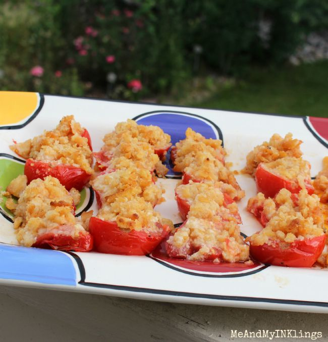 Grilled Friendship Tomatoes