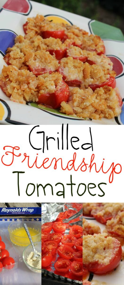 Grilled Tomatoes Vegetable Dish