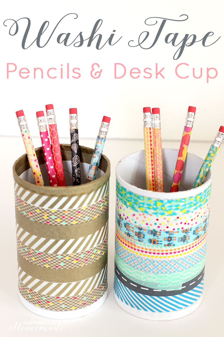 Washi-Tape-Pencils-and-Desk-Cup-Organizer