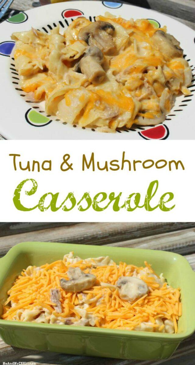 Mushroom Tuna Casserole Recipe Easy Family Friendly Noodles