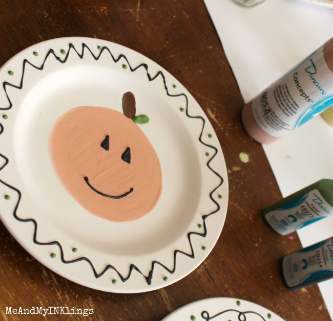 Pumpkin_Plate_Cereamic_Duncan_Before