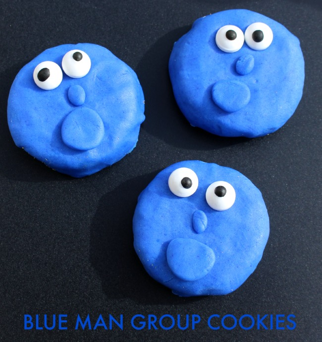 Blue Man Group Cookies Craft Printable Projects
