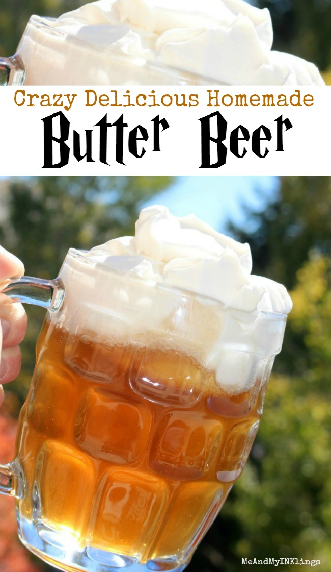 Harry Potter Butter Beer Butterbeer Recipe