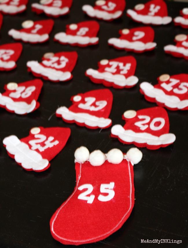 Santa-Hat-Advent-Numbers