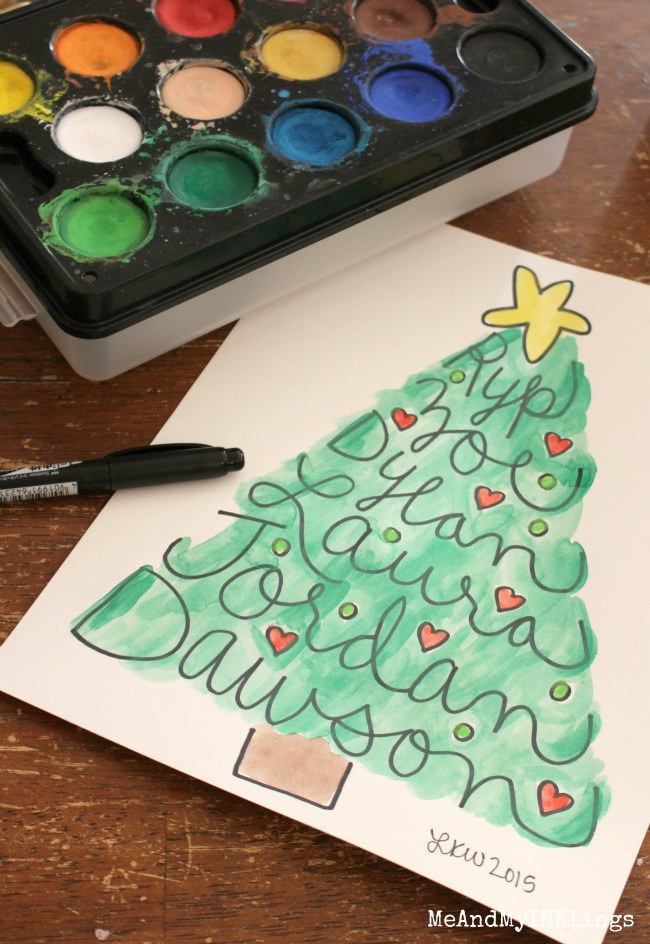 Paint-Hand-Lettered-Christmas-Tree
