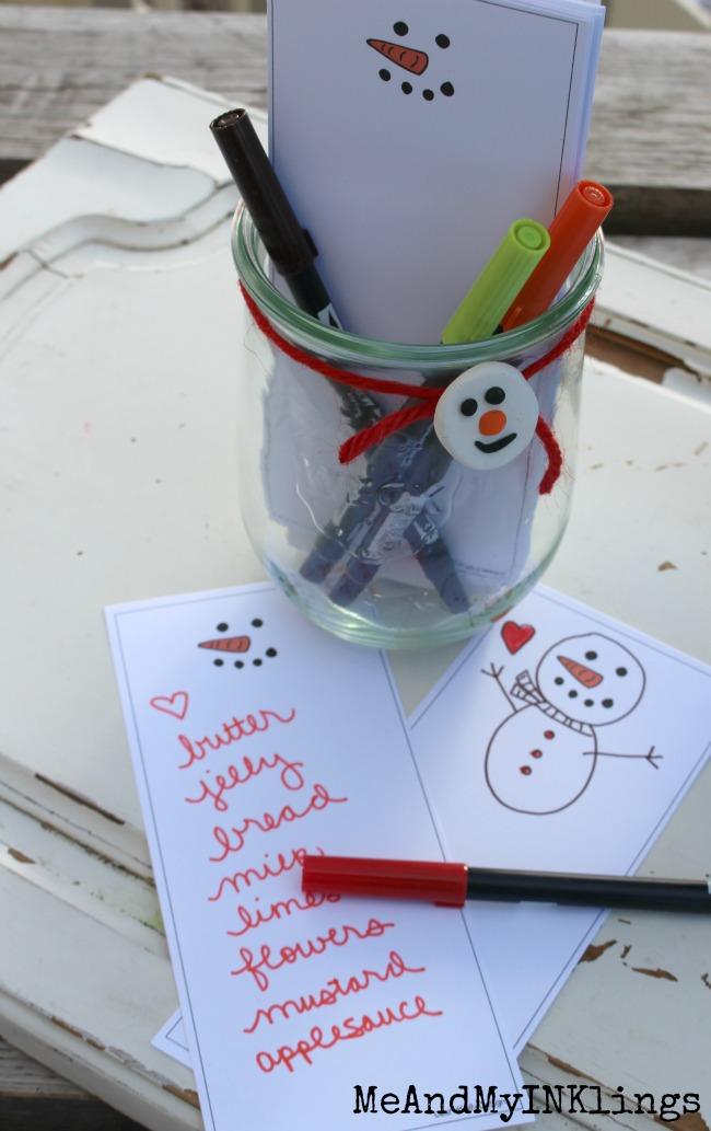 Snowman_Grocery-List