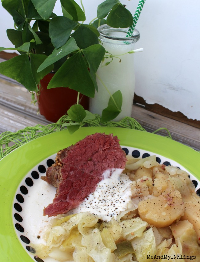 Corned Beef and Cabbage in the Crock Pot