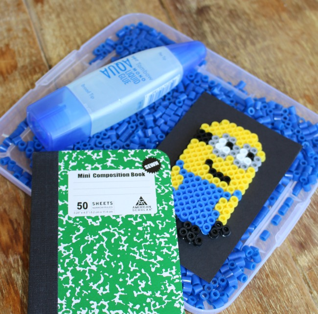 Perler-Bead-Minion-Notebook