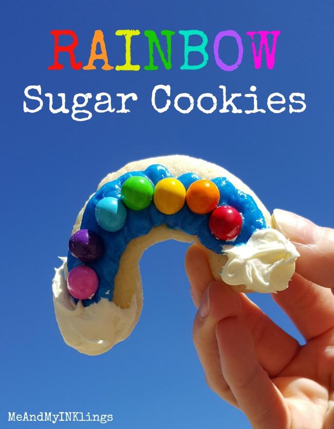Rainbow-Cookie