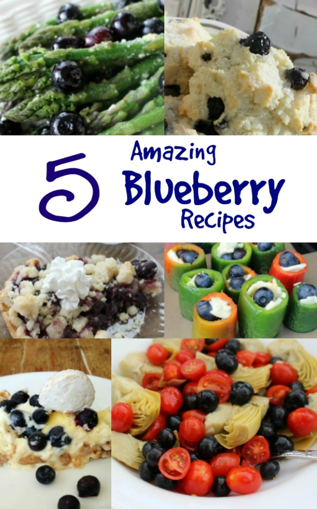 Five Amazing Blueberry Recipes