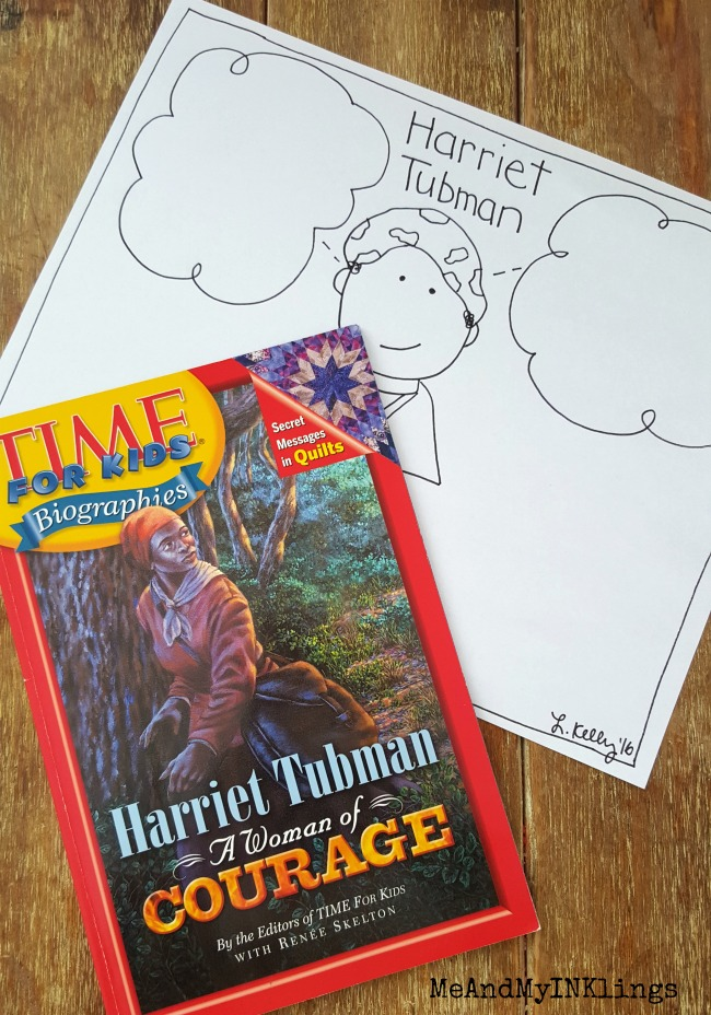 Harriet Tubman Imagination Thought Activity