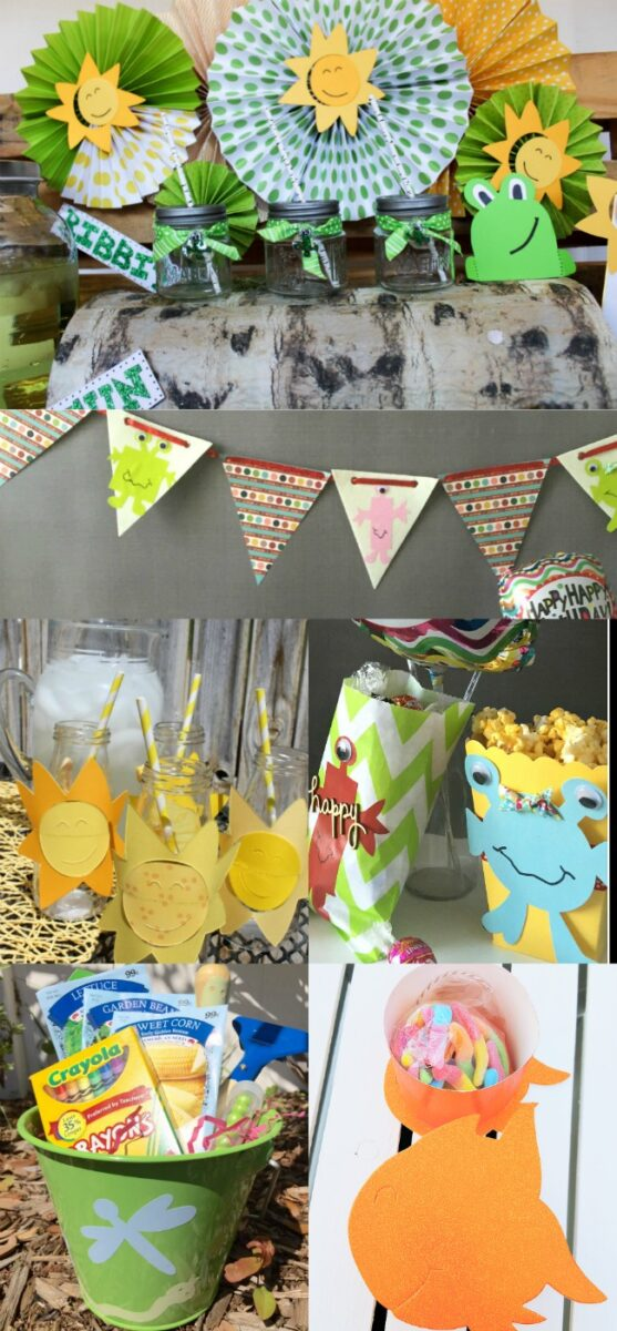 Laura Kelly Sizzix Party Ideas Collage
