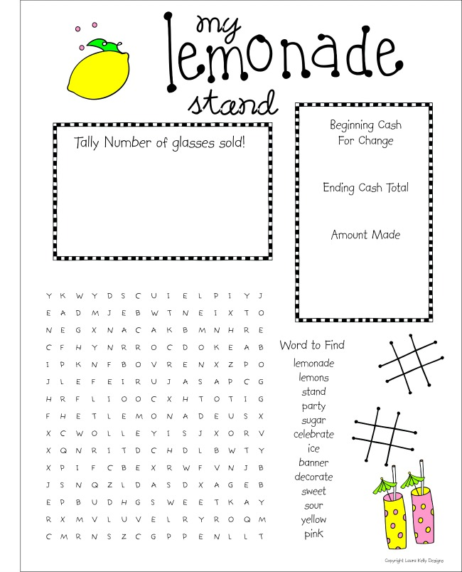 Lemonade Stand - Puzzle
