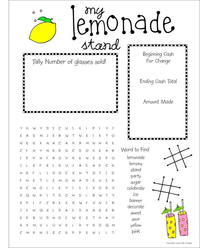 Lemonade Stand - Puzzle