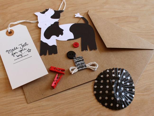 Udderly SMooth PaperCraft Rina 2