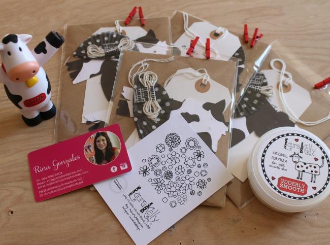 Udderly SMooth PaperCraft Rina