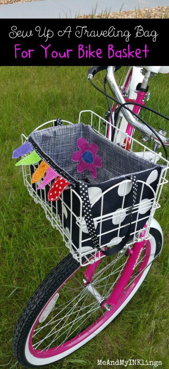 Traveling Bag For Bike Basket