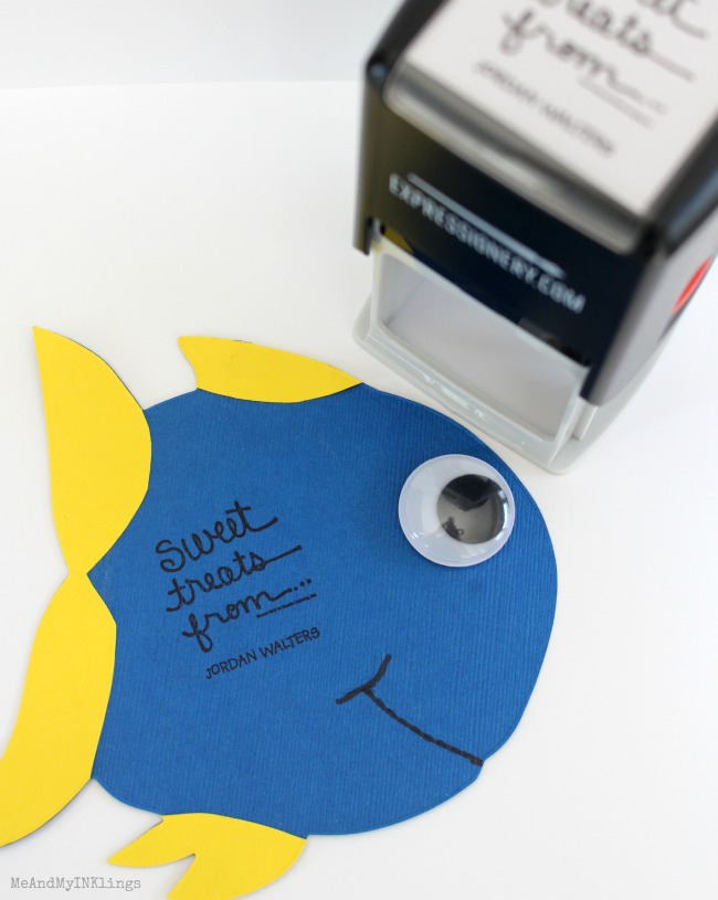 Dory Expressionery Stamp Tag