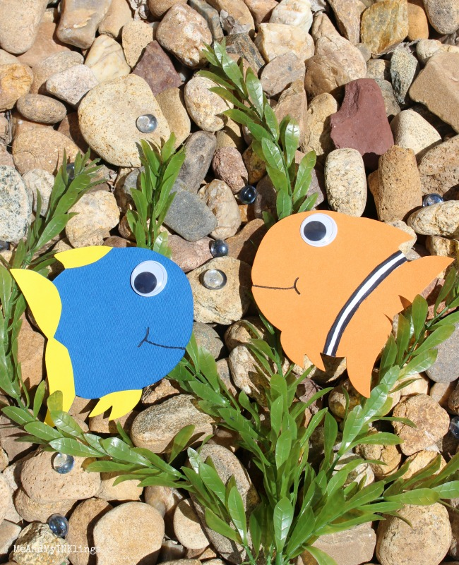 Finding Dory Sizzix Fish Craft