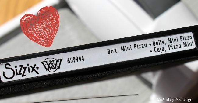 Mini Pizza Box Die Sizzix