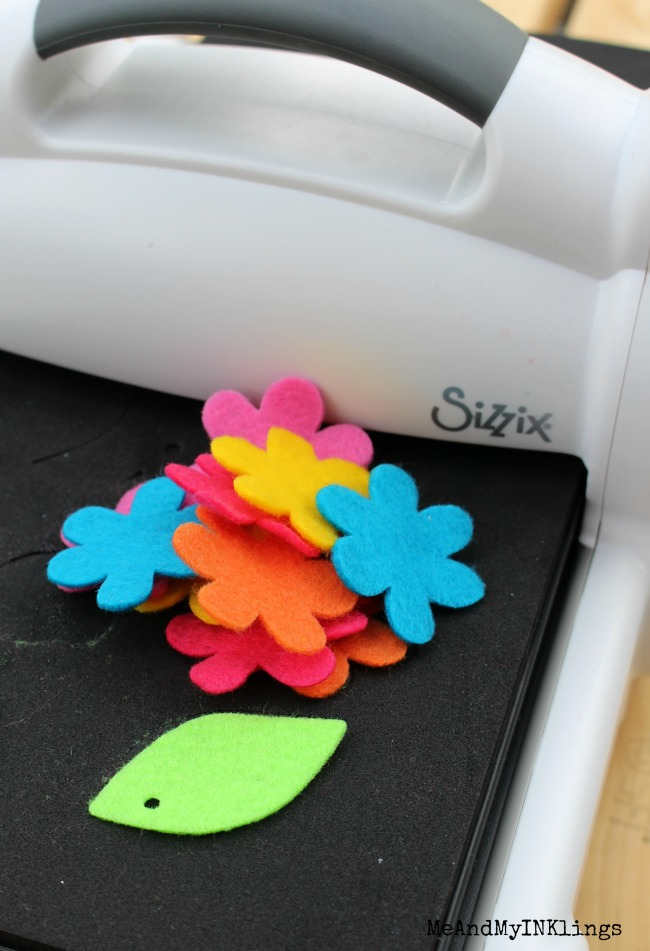 Sizzix Forest Mask Die with Kunin Felt