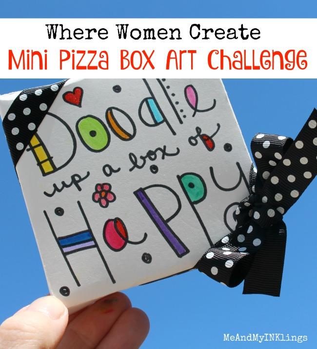 WWC Mini Pizza Box Art