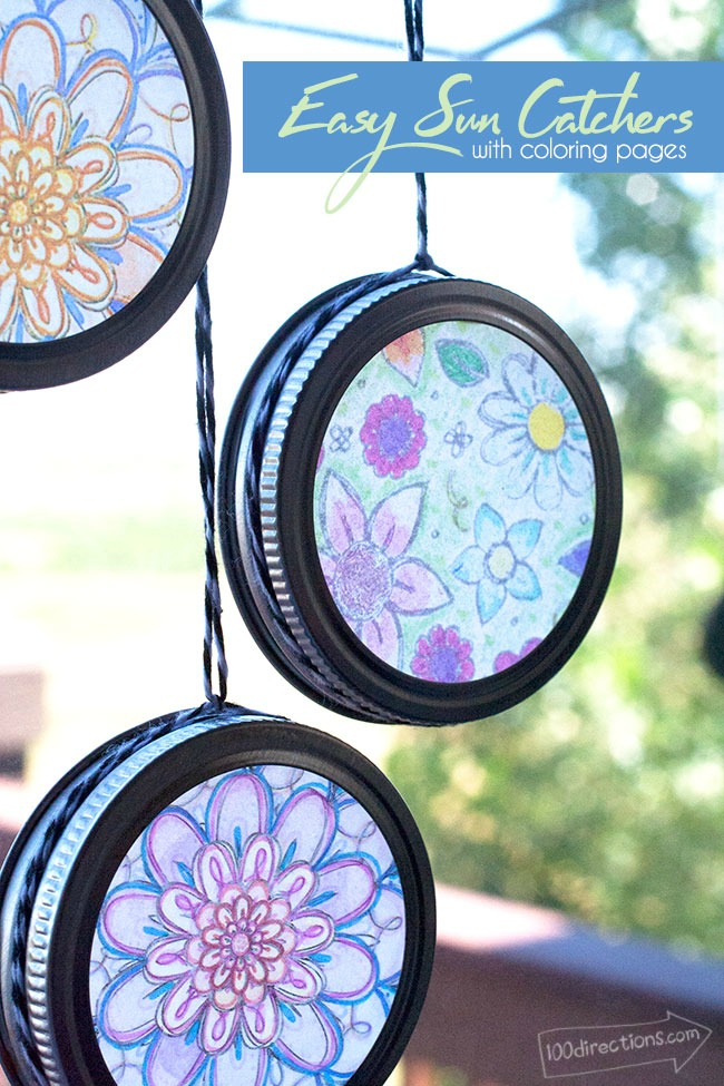 100 Directions Sun Catchers