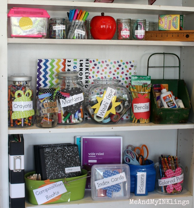 Back to School Storage Containers