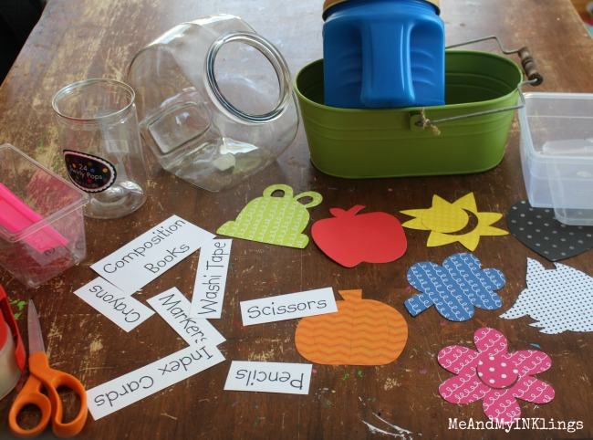 Containers and Labels with Sizzix Dies