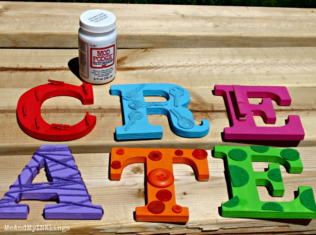 Create Letters Target