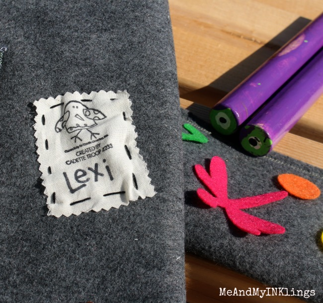 Expressionery Stamp on Fabric