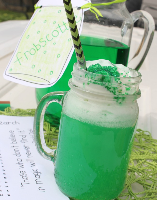 Frobscottle (Green Bubbly Drink from The BFG)