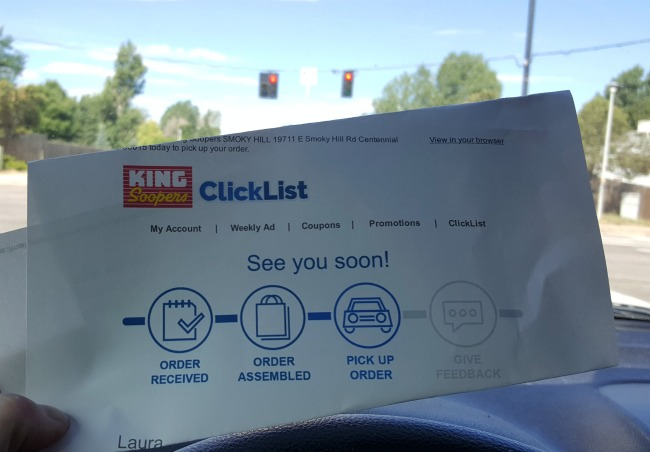 King Soopers Click List eMail