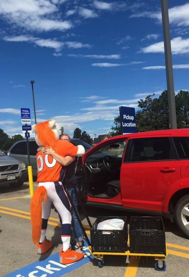 King Soopers Click List with Broncos Miles