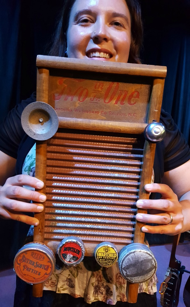 Lark and Loon Instrument Washboard