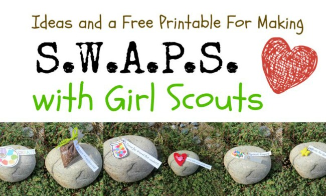 SWAPS GIrl Scouts Free Printable