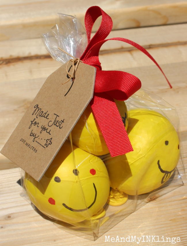Emoji Stress Balls with Expressionery Tag