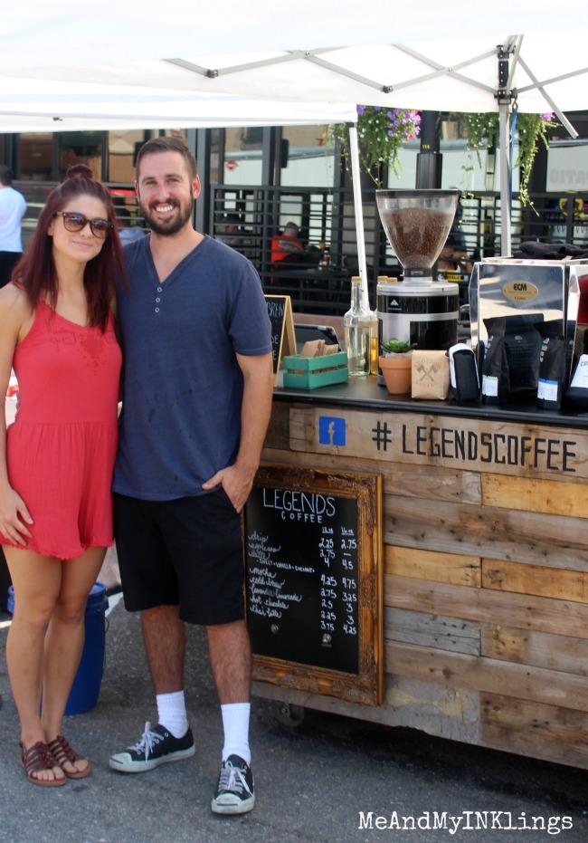 Legends Coffee Farmers Market