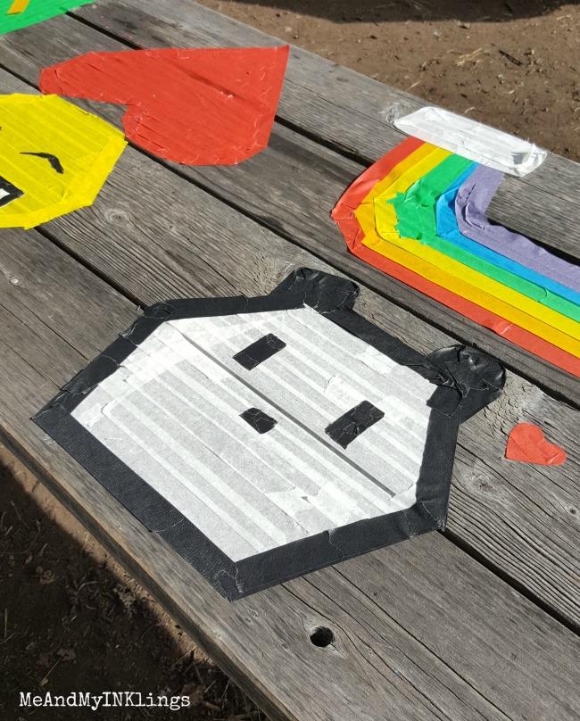 Panda Tape Art
