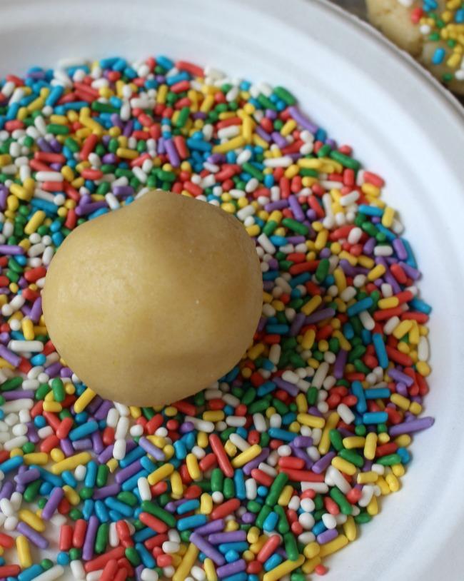 Sugar Cookie Ball