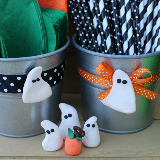 Clay Ghost Magnets