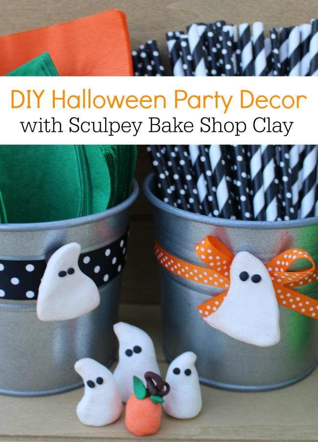 DIY Halloween Party Decor Sculpey Clay