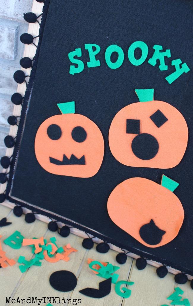Felt Board Ellison Pumpkins and Lemonade Alphabet