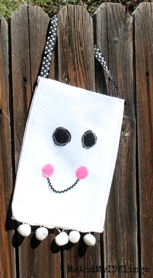 Ghost Bag Felt and Pom Pom Trim 2