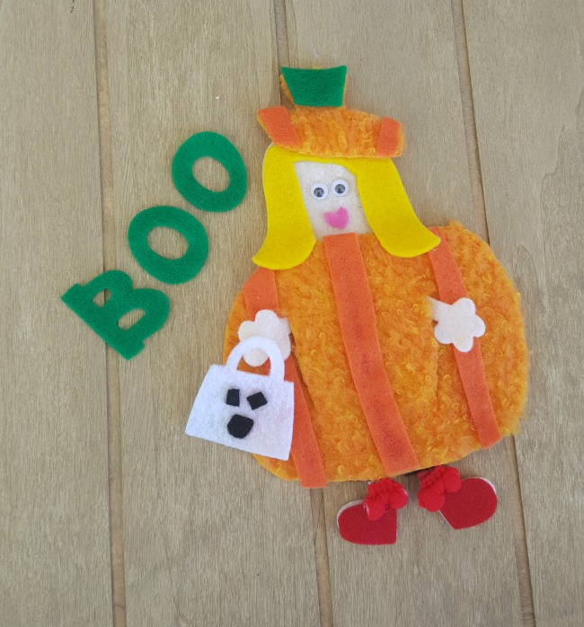 Me and My Peeps Pumpkin Costume 2