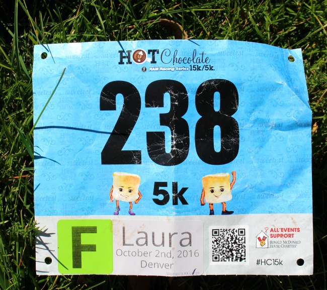 Hot Chocolate Racing Bib