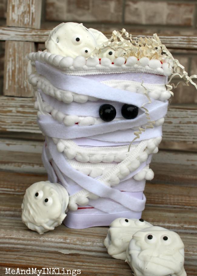 Mummy Popcorn Box